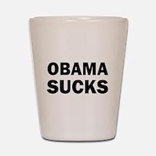 Obama Sucks Anti Obama Shot Glass
