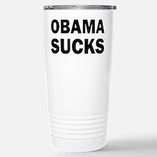 Obama Sucks Anti Obama Travel Mug