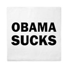 Obama Sucks Anti Obama Queen Duvet