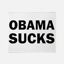 Obama Sucks Anti Obama Throw Blanket