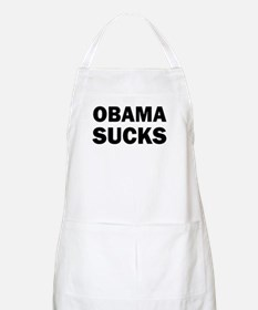 Obama Sucks Anti Obama Apron