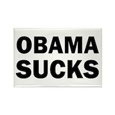 Obama Sucks Anti Obama Rectangle Magnet (100 pack)