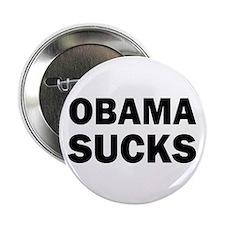 "Obama Sucks Anti Obama 2.25"" Button (10 pack)"