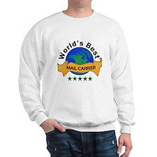 Unique Worlds greatest mailman Sweatshirt