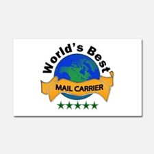Cool Mail carrier Car Magnet 20 x 12