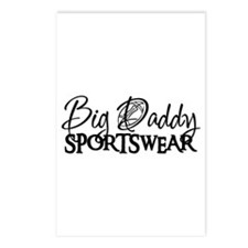 BIG DADDY FOOTBALL  Postcards (Package of 8)