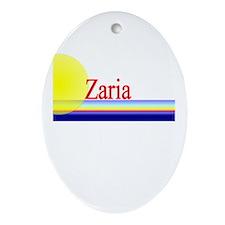 Zaria Oval Ornament