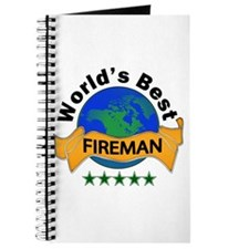 Cute World's greatest fire fighter Journal