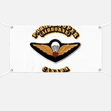 Airborne - Canada Banner