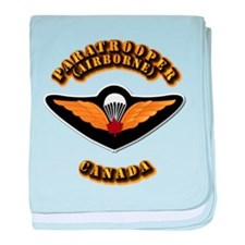 Airborne - Canada baby blanket