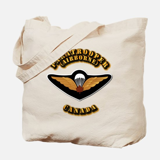 Airborne - Canada Tote Bag