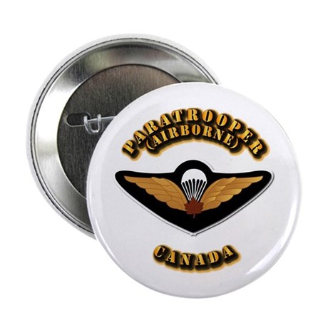 """Airborne - Canada 2.25"""" Button (10 pack)"""