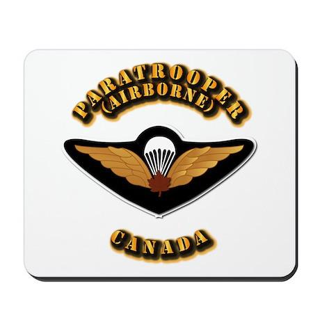 Airborne - Canada Mousepad
