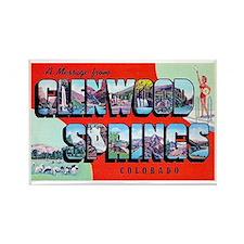 Glenwood Springs Colorado Greetings Rectangle Magn