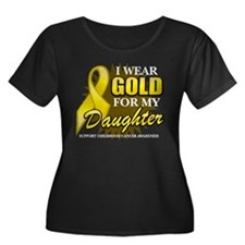 Gold For My Daughter 2 Plus Size T-Shirt