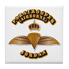 Airborne - Jordan Tile Coaster
