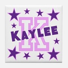 Personalized with your name and first initial Tile