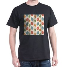 Colored Eggs Print T-Shirt