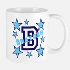 Personalized with your name and first initial Small Small Mug