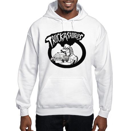 TruckAsaurus logo Hooded Sweatshirt