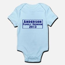 Personalized Family Reunion Infant Bodysuit
