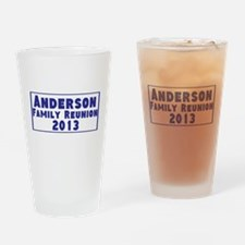Personalized Family Reunion Drinking Glass
