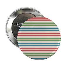 "Horizontal Tropical Stripes 2.25"" Button (100 pack"
