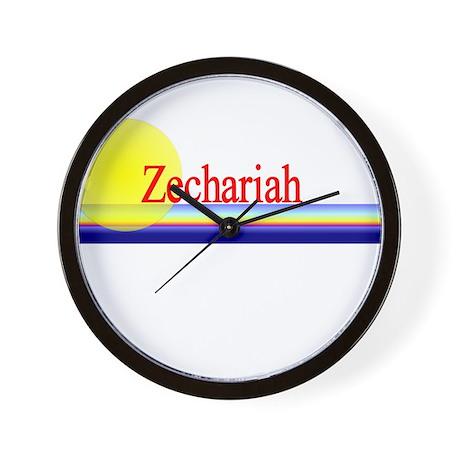 Zechariah Wall Clock