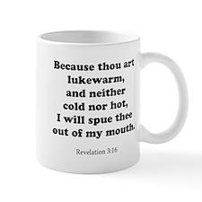 Revelation 3:16 Mug