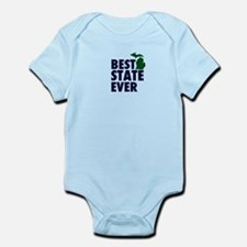 Michigan: Best State Ever Infant Bodysuit
