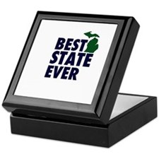 Michigan: Best State Ever Keepsake Box