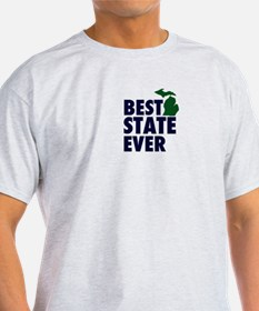 Michigan: Best State Ever T-Shirt