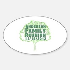 Personalized Family Reunion Decal