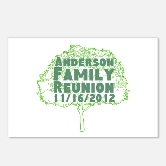 Personalized Family Reunion Postcards (Package of