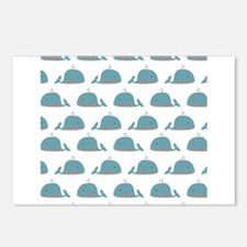 Whale Print Postcards (Package of 8)