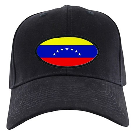 Venezuela Venezuelan Blank Fl Black Cap
