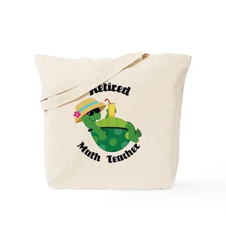 Retired Math Teacher Gift Tote Bag