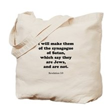 Revelation 3:9 Tote Bag