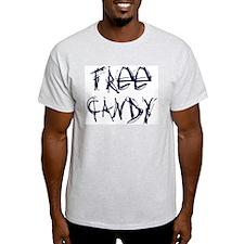 """ExpressionWear """"Free Candy"""" Ash Grey T-Shirt"""