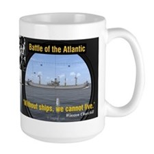 Winston Churchill U-Boat Peril Mug
