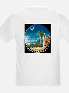 Doberman Fiddle D Kids T-Shirt