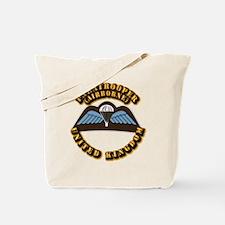 Airborne - UK Tote Bag