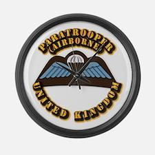 Airborne - UK Large Wall Clock