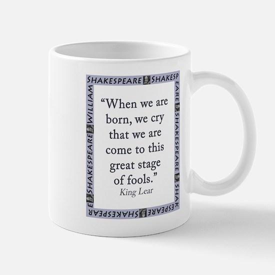When We Are Born Mug
