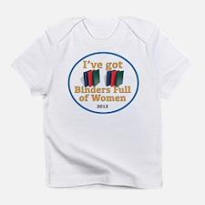 BINDERS_FULL_OF_WOMEN_LOGO Infant T-Shirt