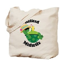 Retired Midwife Gift Tote Bag