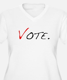 Vote. Plus Size T-Shirt