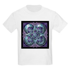 Silver & Purple Celtic Tapestry T-Shirt