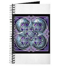 Silver & Purple Celtic Tapestry Journal