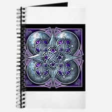 Silver & Purple Celtic Tapestry Journal